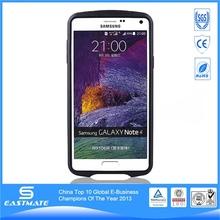TPU hard tank style for samsung galaxy note 4 aluminum bumper cellphone case