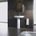 Salle de bains de luxe deux pièce sanitaires toilette, Et bassin