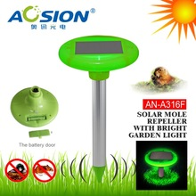 Aosion practical led mole repeller with waterproof
