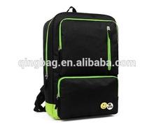 Acctractive black school laptop backpack