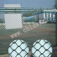 Galvanized basketball court netting