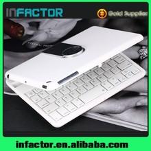 New design slim aluminum bluetooth keyboard lifeproof for iPad mini case