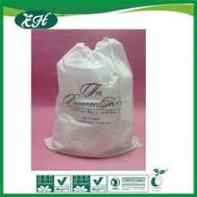 wholesale promotional custom plastic dirty laundry bag for travel