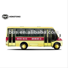 Hengneng 5.9 meter China mini bus with diesel front engine (CKZ6590D) - Shanghai