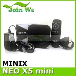 MINIX NEO X5 MINI Dual-Core Cor tex A9 Processor/1GB DDR3/8GB NAND Flash/H D M I 1.4a, Full HD 1080P Internet media Player