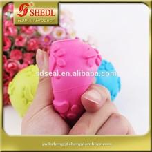 Molar teeth bite dog toys Rubber molar pet plaything Molar ball