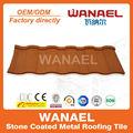 Roman durable congélation toit résistant à carreaux / remplacement de tuile de toit en pvc, Faible coût maison matériau de construction