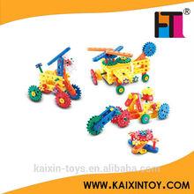 110PCS plastic DIY building block game big size educational toy 72 models