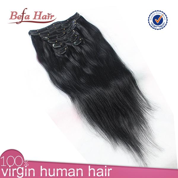 Cheap Black Hair Extensions Clip In Full Head 19