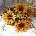 2014 yapay çiçek yapay ipek ayçiçeği yapay ayçiçeği buket sahte ayçiçekleri