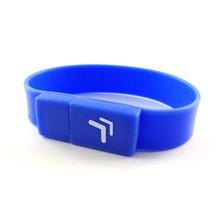 oem bracelet wrist usb silicone bracelet usb flash drive