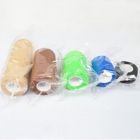 CE FDA approved colored Nonwoven Elastic Cohesive Bandage