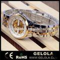 Alibaba expressar braço mercado tempo atacado baratos watch esqueleto mecânico automático com oem, vestido da senhora de quartzo relógio de pulso