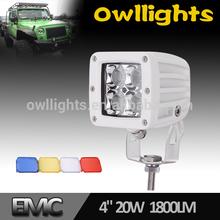 Alibaba express led 20w 12v24v flood/ spot /combo led work light for cars ,3inch 20w led light bar driving light