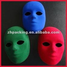 halloween party plastic mask white venetian mask for party
