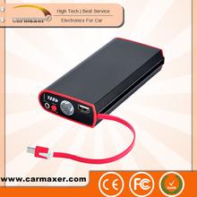 mini jump starter-patented products 10000mah OEM manufacturer 5v 12v 19v car jump starter power all