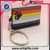 art and craft metal high quality fashion soft pvc christian key chains