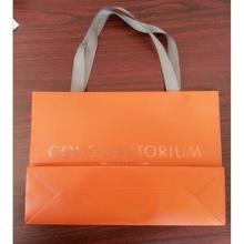 2014 New Luxury Shopping Paper Bag for Cloth/promotional paper gift bag
