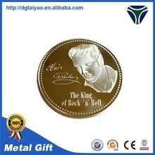 Customized souvenir metal copies of coin