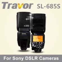 Travor profesional video camera flash SL-685S for Sony, super smash flash