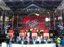 Advertising 3D LED display 4x4 system for 46' screen wall big 3D LED display