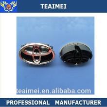 Custom Chrome Round Car Logo Emblem Car Badges Emblems