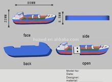 Alibaba Paypal Custom Steamship Boat Shape USB Flash Drive