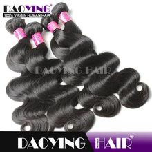 5a grade virgin malaysian body wave hair, noble gold synthetic hair