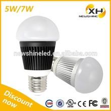 Shenzhen Factory Indoor Decorative Warm White 3000K E26 E27 5w 7w Smart LED Bulb Accessories