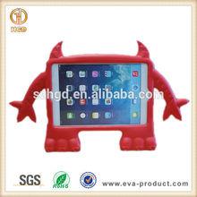 Child Proof EVA Foam Lovely Demon Shape Red Case for iPad Mini 3