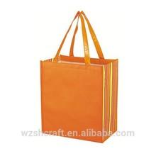 China Factory Customized Extralarge shiny laminated nonwoven tropic shopper tote bag