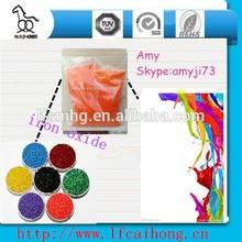 factory supply orange iron oxide(free sample)
