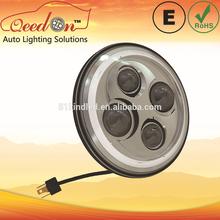 Qeedon 7inch LED Round ECE E-mark DOT head lamp for TOYOTA ipsum sxm10 96-98 beam low and high beam driving head lighting