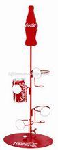 Economic hot sale convenient water bottle display stands