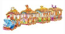 hot sale amusement park rides track train for sale