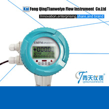 dc 360 rotating square screen flow meter converter