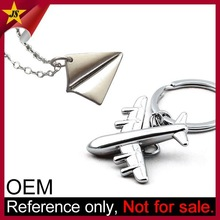Wholesale Creative Premium Silver Airplane Favor Aviation Gifts for Pilots