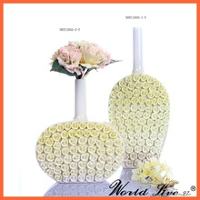 winebottle shape art porcelain vase