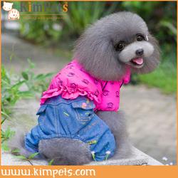red pet puppy hoodies dog winter pockets design