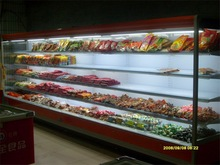 OEM good price open display fridge