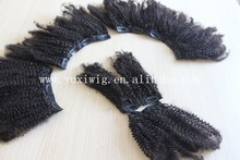 wholesale top quality unprocessed cheap 100% virgin afro kinky curly hair cambodian