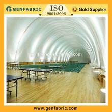 pvdf tent membrane structure architecture with natatorium
