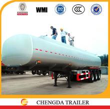 42000Liter heavy fuel tank truck fuel tank specification