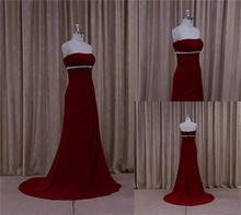 Sofisticado vestido de noche más nuevo miami