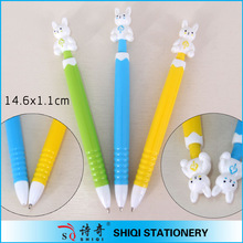 high quality cheap price logo cartoon promotional pens