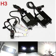 High quality h3 led headlight bulb for car auto 360 perfect emitting h3 led bulb