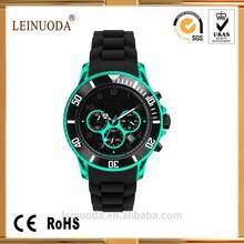 15 Mixed colors fashion jelly cheap geneva quartz silicone watch