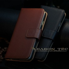 Alibaba China main supplier for iphone real leather case, popular cell phone real genuine leather case for iphone 6, phone case