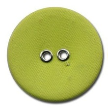 fashion two hole fabric covered button