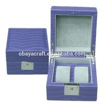 Fashion Luxury violet wooden watch case wholesale